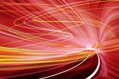 Ilustração do fundo da tecnologia, velocidade abstrata Fotos de Stock Royalty Free