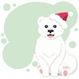 Ilustração do fundo de assento do molde do urso Foto de Stock