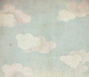Céu e nuvens ilustração royalty free