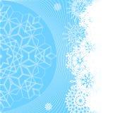 Ilustração do fundo do inverno Fotos de Stock Royalty Free