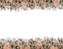 Ilustração do fundo do teste padrão de flor da flor Fotografia de Stock Royalty Free
