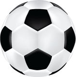 Ilustração do futebol Fotos de Stock Royalty Free