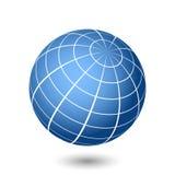 Ilustração do globo Fotografia de Stock