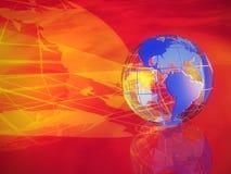 Ilustração do globo Foto de Stock