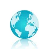 ilustração do globo do mundo ilustração stock