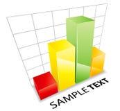 Ilustração do gráfico Imagens de Stock Royalty Free