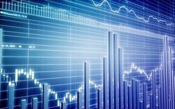 Ilustração do gráfico Fotografia de Stock