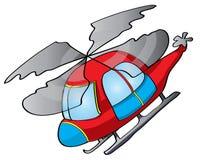 Ilustração do helicóptero Imagem de Stock
