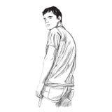 Ilustração do homem Foto de Stock Royalty Free