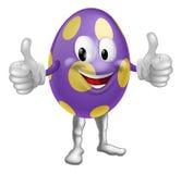 Ilustração do homem do ovo da páscoa ilustração do vetor