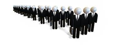 Ilustração do JPG + do vetor Peritos e consultantes Imagem de Stock