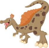 Ilustração do levantamento do dinossauro Fotos de Stock Royalty Free