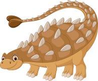 Ilustração do levantamento do dinossauro Fotografia de Stock