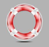 Ilustração do Lifesaver Fotografia de Stock