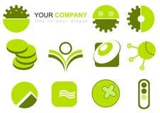 Ilustração do logotipo Imagens de Stock