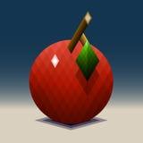 Ilustração do logotipo de Apple Imagens de Stock Royalty Free
