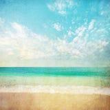 Ilustração do mar de Grunge Fotografia de Stock Royalty Free