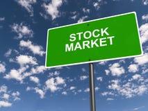 Ilustração do mercado de valores de ação ilustração do vetor