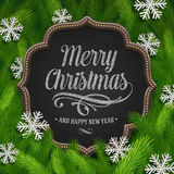 Ilustração do Natal Foto de Stock