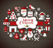Ilustração do Natal Fotos de Stock Royalty Free