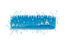 Ilustração do Natal/ano novo Fotos de Stock