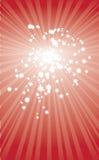 Ilustração do Natal do vetor do cartão da estrela Imagem de Stock