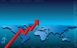 Ilustração do negócio Imagens de Stock Royalty Free