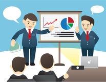 Ilustração do negócio Imagem de Stock