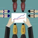 Ilustração 4 do negócio Foto de Stock Royalty Free