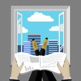 Ilustração 6 do negócio Imagens de Stock Royalty Free