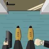 Ilustração 2 do negócio Foto de Stock Royalty Free