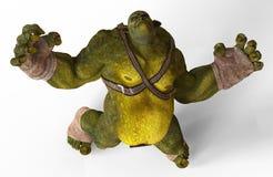 Ilustração do ogre 3D Imagem de Stock