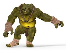 Ilustração do ogre 3D Imagens de Stock Royalty Free