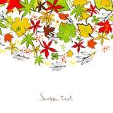 Ilustração do outono Foto de Stock Royalty Free