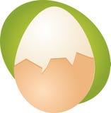 Ilustração do ovo ilustração stock