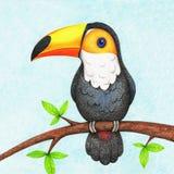Ilustração do pássaro para crianças ilustração royalty free