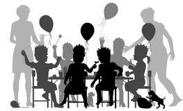 Ilustração do partido Foto de Stock Royalty Free