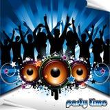 Ilustração do partido Imagem de Stock