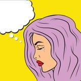 Ilustração do pop art Vetor ilustração stock