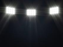 Ilustração do projector do estágio com raias Imagem de Stock Royalty Free