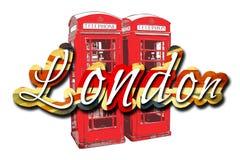 Ilustração do projeto da arte de Londres Imagem de Stock