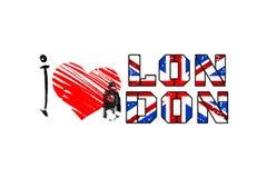 Ilustração do projeto da arte de Londres Fotografia de Stock