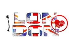 Ilustração do projeto da arte de Londres Fotografia de Stock Royalty Free