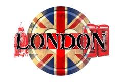 Ilustração do projeto da arte de Londres Imagens de Stock
