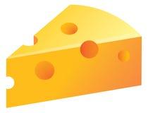 Ilustração do queijo Foto de Stock