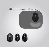 Ilustração do rato do computador Fotos de Stock Royalty Free
