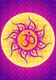 Ilustração do símbolo do OM ilustração stock