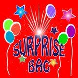 Ilustração do saco da surpresa Fotografia de Stock