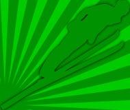 Ilustração do salto de esqui   Imagens de Stock Royalty Free
