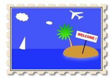 Ilustração do selo do borne Imagens de Stock